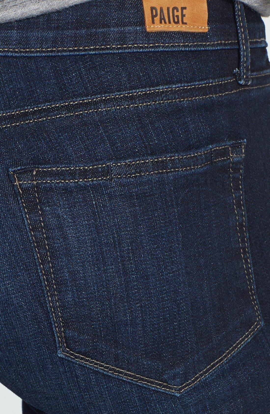 Alternate Image 3  - Paige Denim 'Skyline' Skinny Jeans (Trinity)