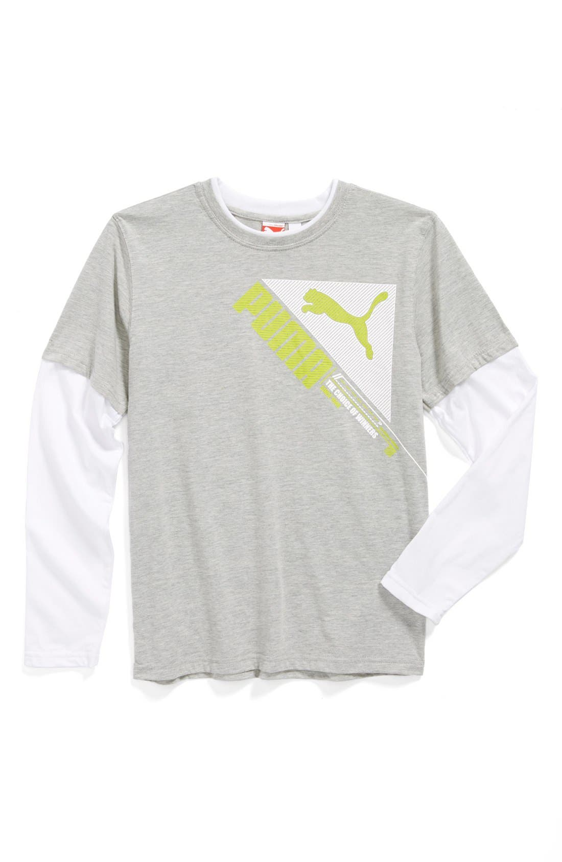 Alternate Image 1 Selected - PUMA 'Winners' T-Shirt (Little Boys)