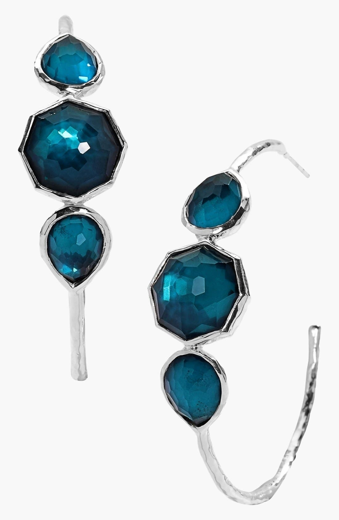 Main Image - Ippolita 'Wonderland - Gelato' Station Hoop Earrings (Nordstrom Exclusive)