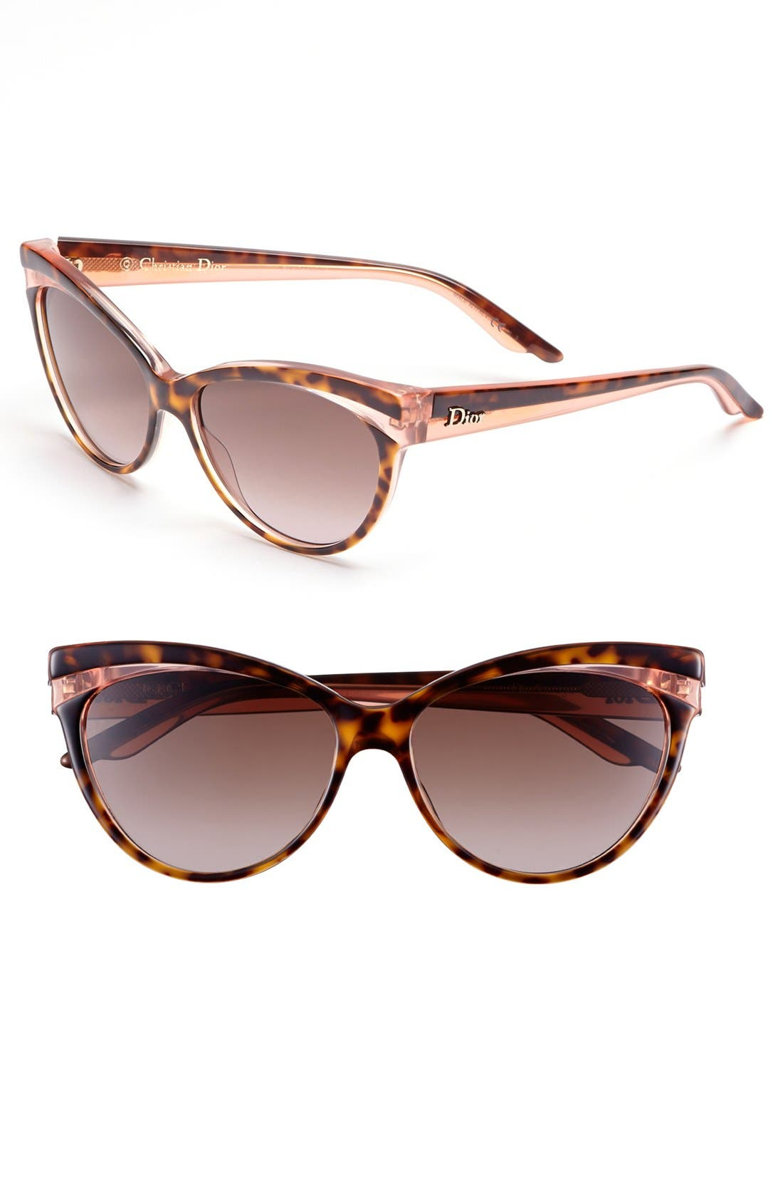 Main Image - Dior 'Sauvage' 56mm Retro Sunglasses