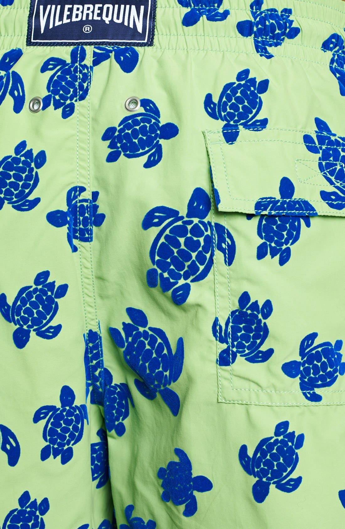 Alternate Image 3  - Vilebrequin 'Moorea' Turtle Print Swim Trunks