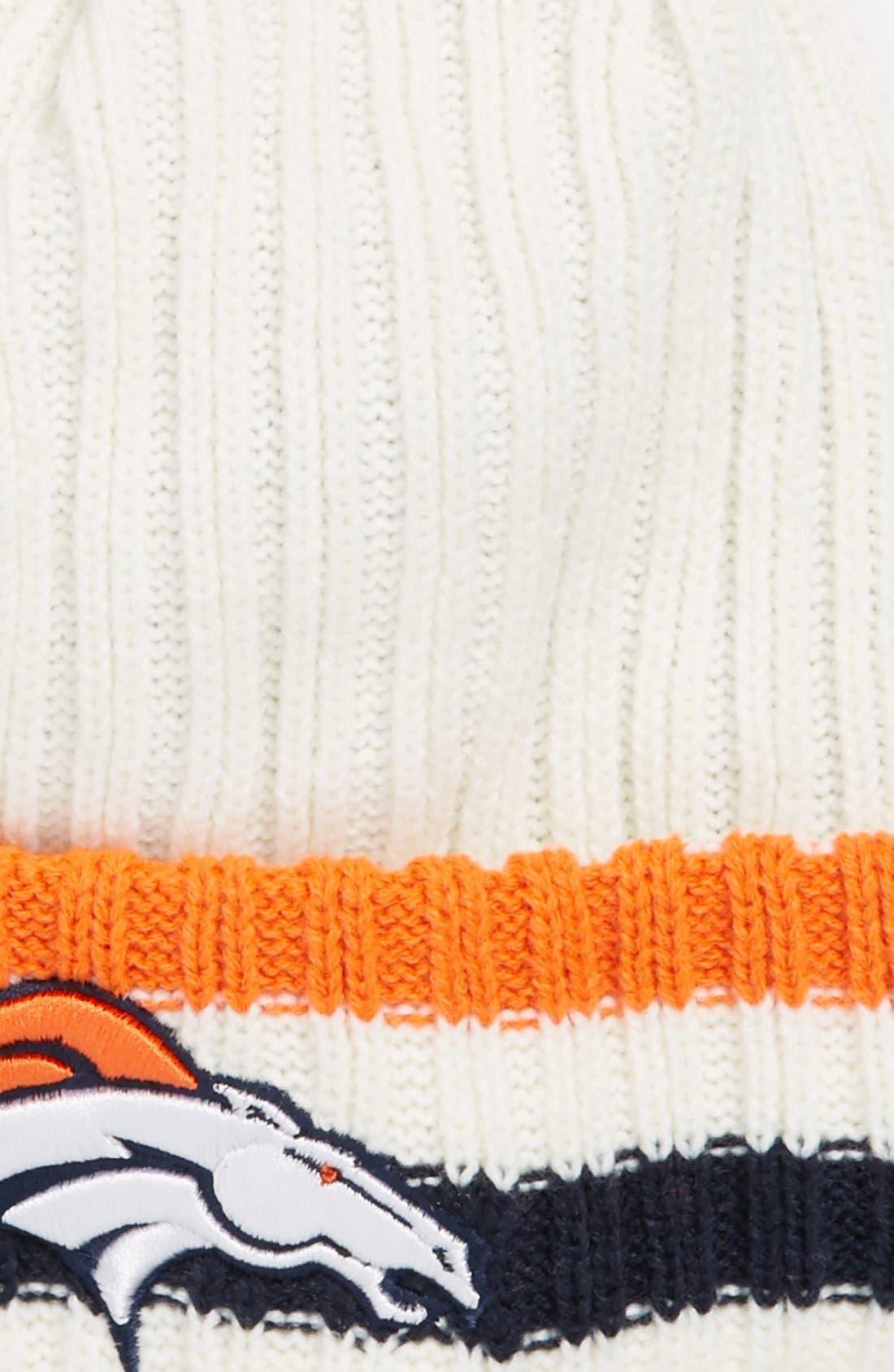 Alternate Image 2  - New Era Cap 'Yesteryear - Denver Broncos' Knit Cap