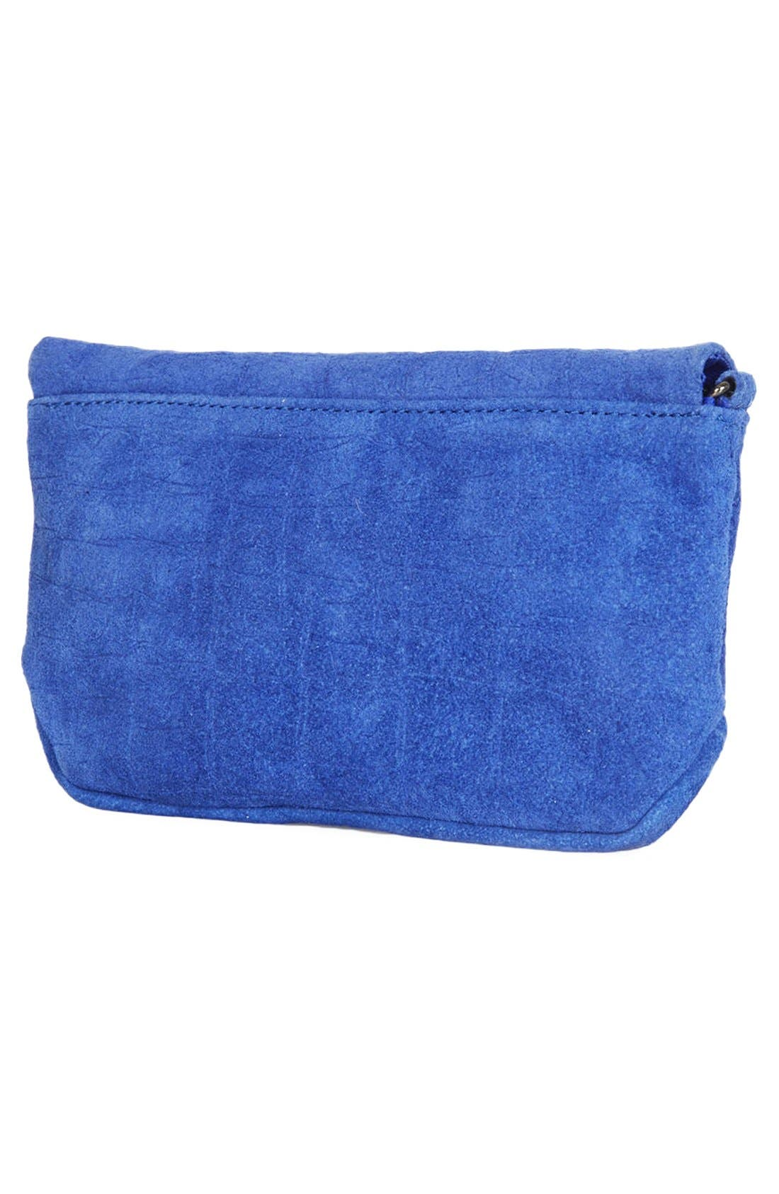Alternate Image 4  - Topshop Leather Crossbody Bag