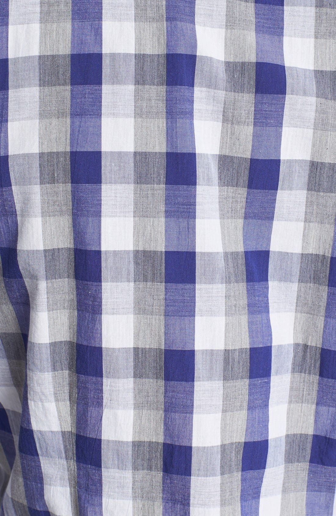 Alternate Image 3  - Paul Smith Jeans Slim Fit Check Cotton Shirt