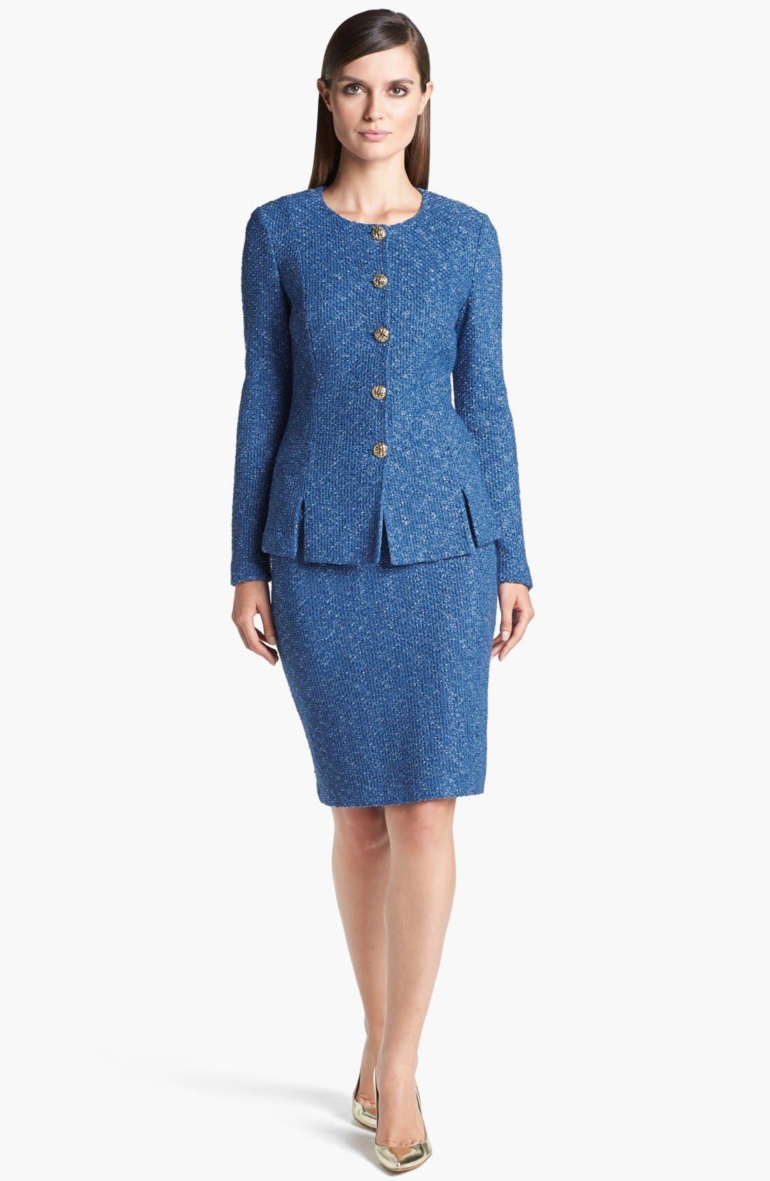 Alternate Image 3  - St. John Collection Flecked Tweed Jacket