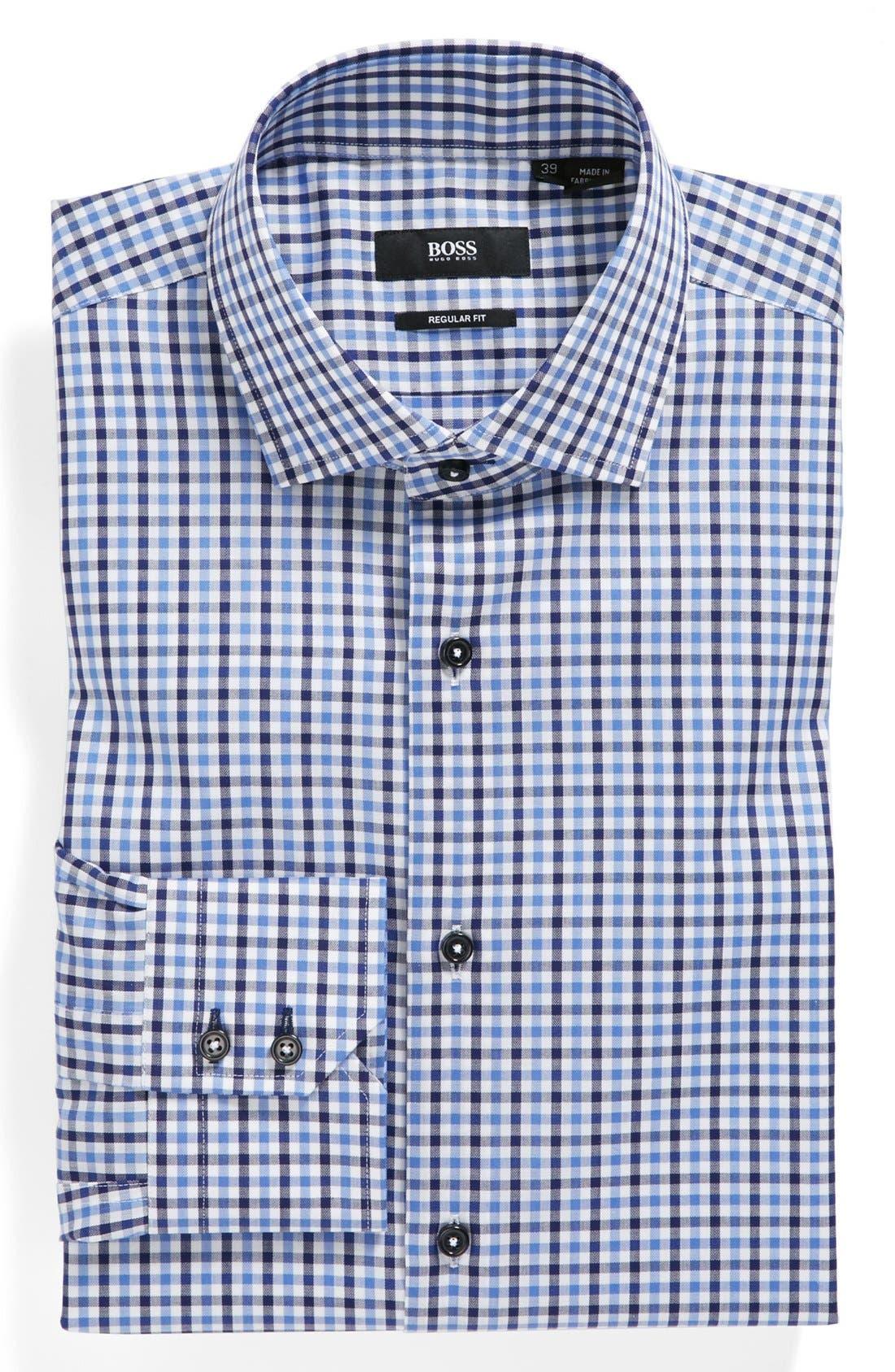 Alternate Image 1 Selected - BOSS HUGO BOSS 'Gorman' WW Regular Fit Dress Shirt