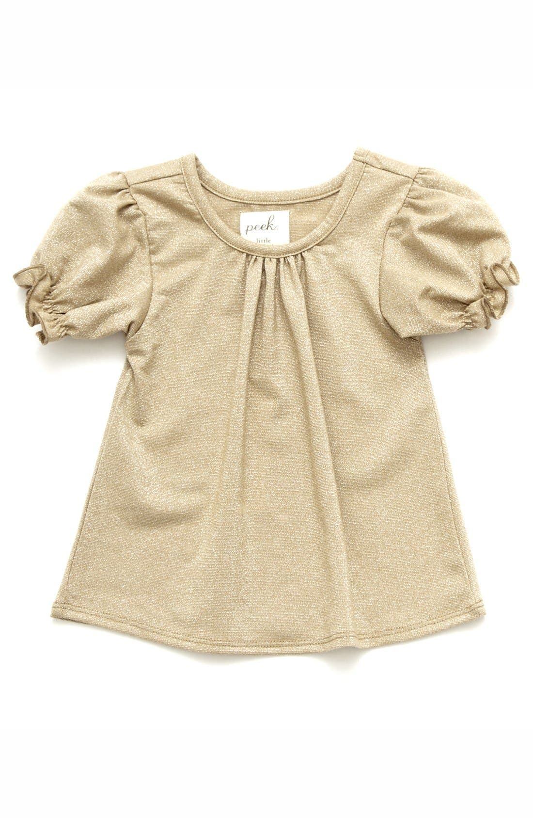 Main Image - Peek 'New Royal' Tee (Baby Girls)