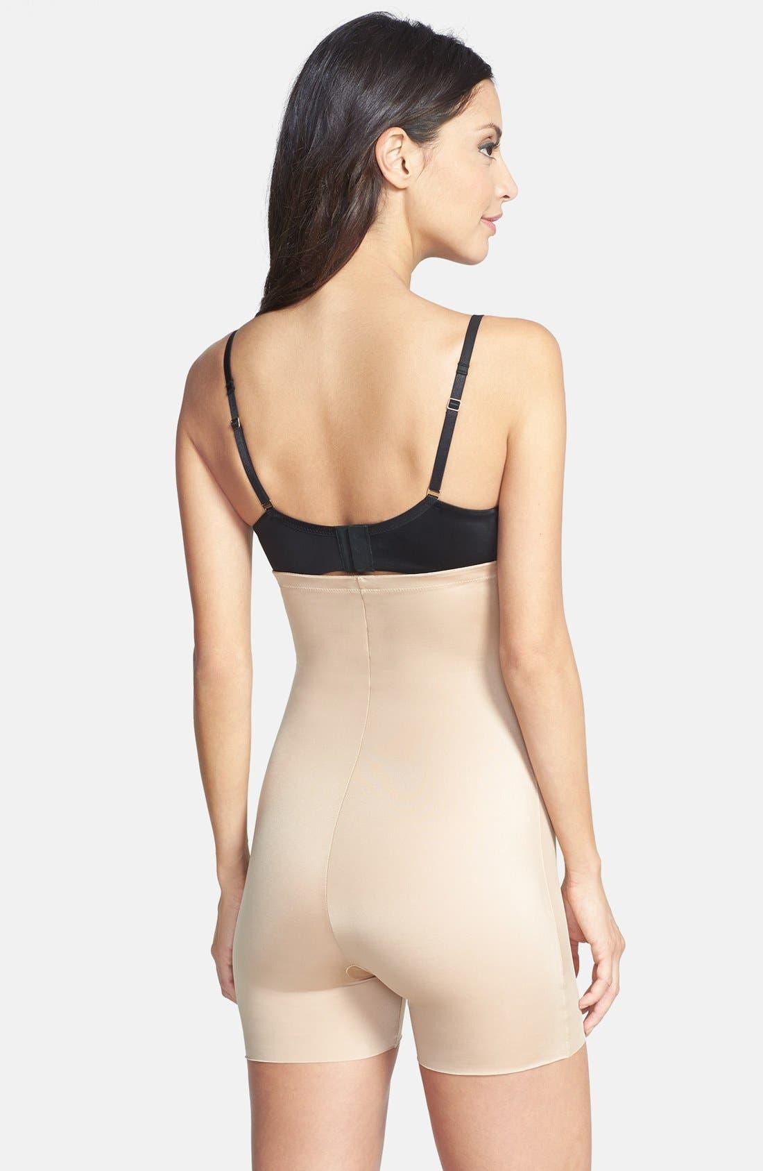 Alternate Image 2  - SPANX® 'Oh My Posh' High Waist Shaper Girl Shorts