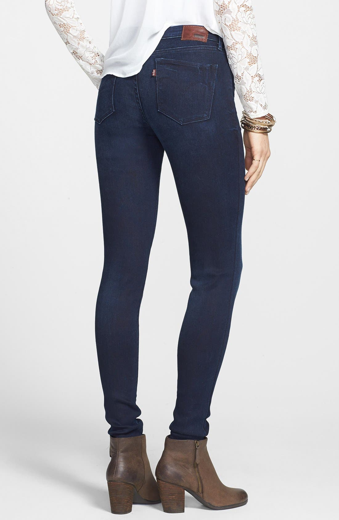 Alternate Image 2  - Levi's® 'Core Better Legging' Skinny Jeans (Dark)