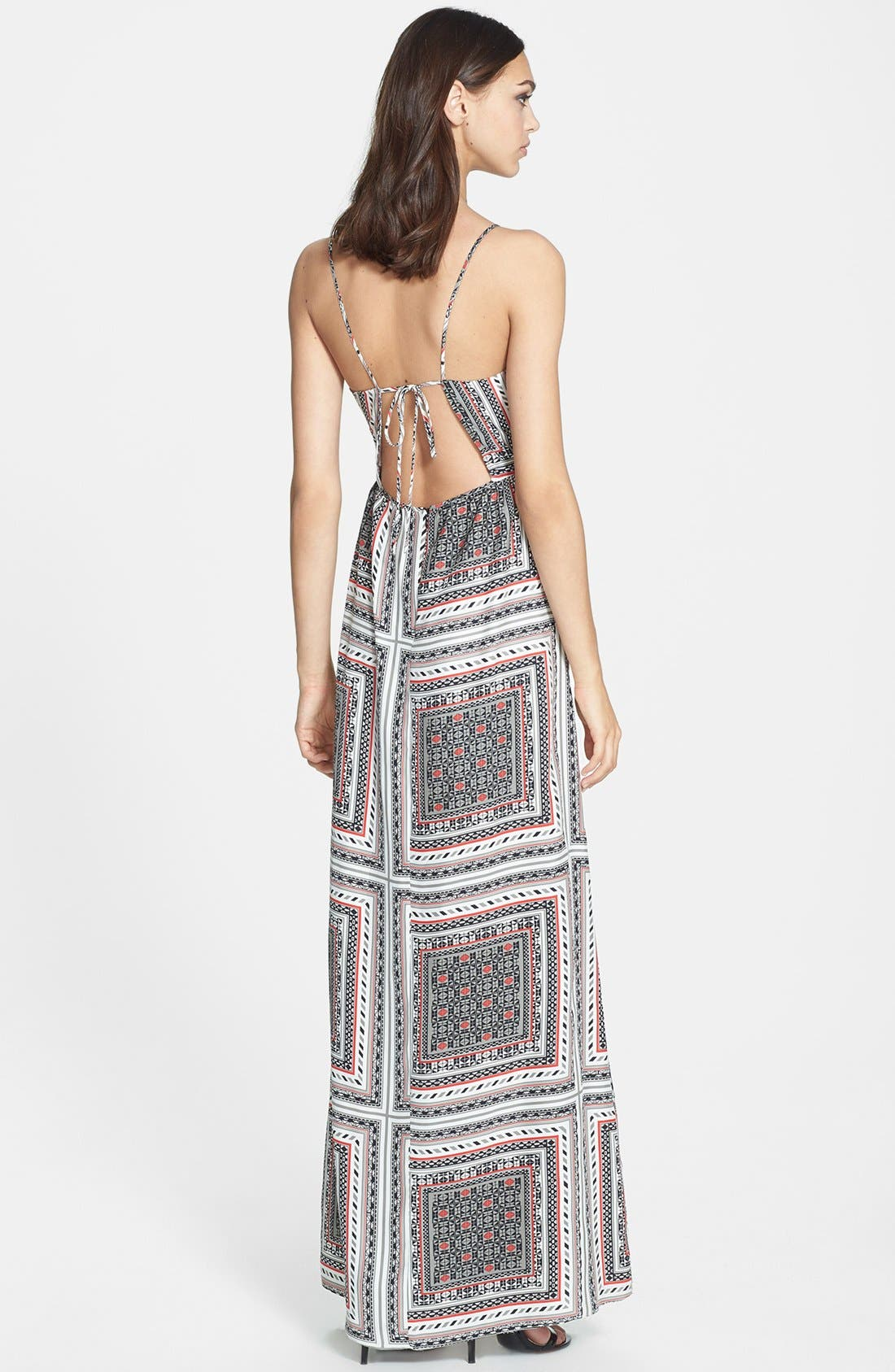 Alternate Image 2  - Parker 'Kisa' Print Silk Maxi Dress
