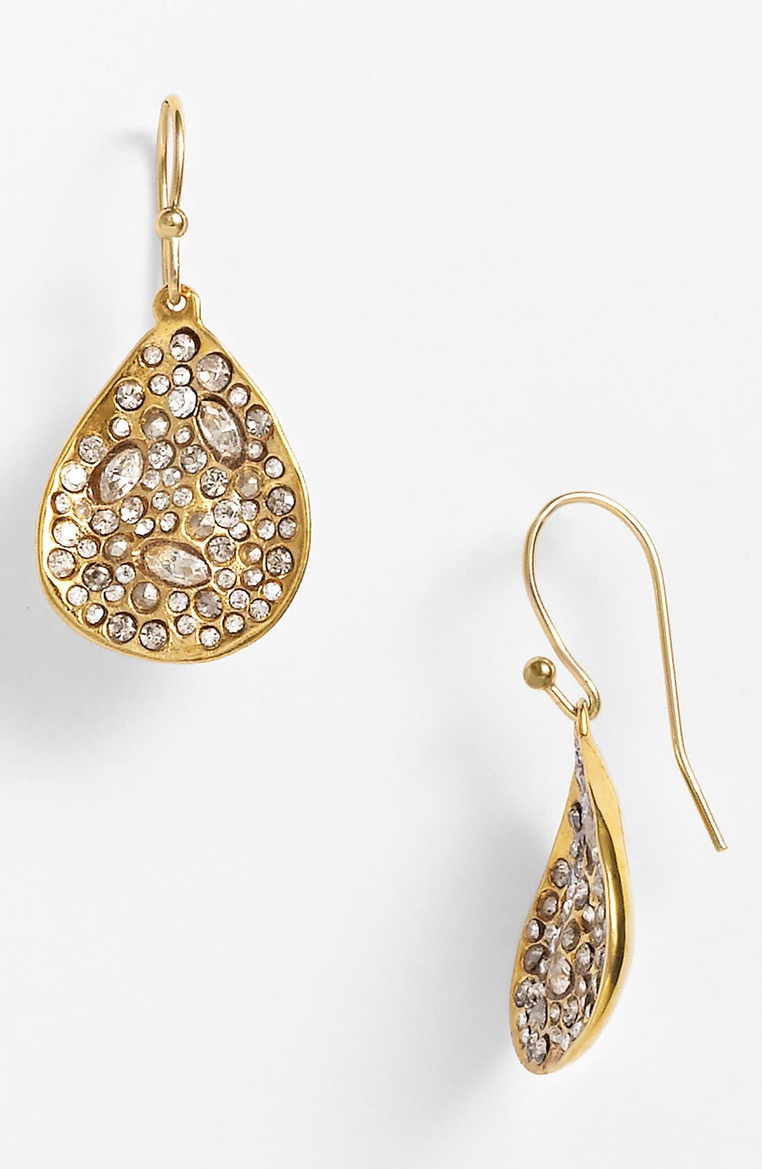 Main Image - Alexis Bittar 'Miss Havisham' Crystal Encrusted Teardrop Earrings
