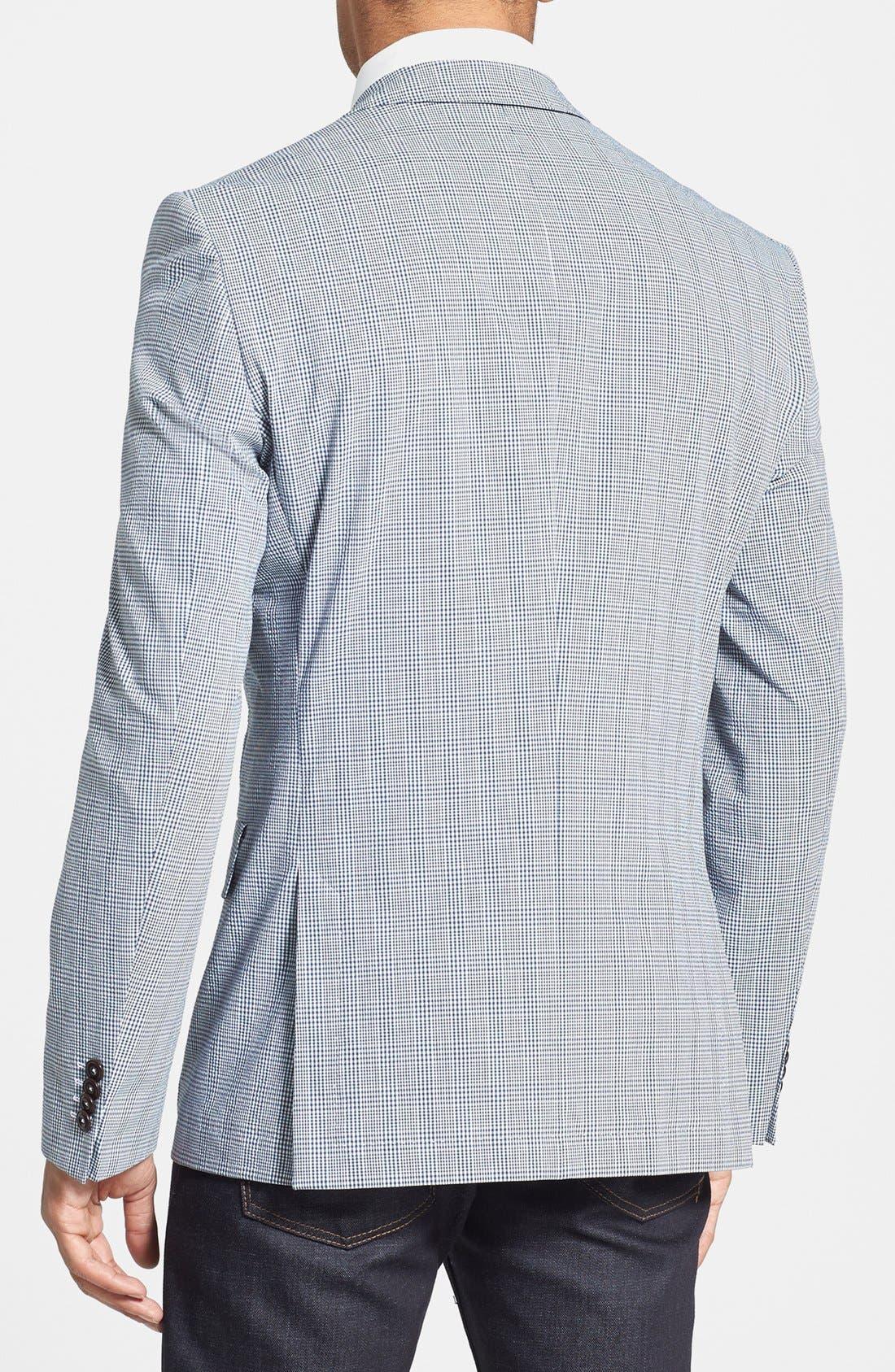 Alternate Image 2  - BOSS HUGO BOSS 'Noris' Trim Fit Plaid Sportcoat
