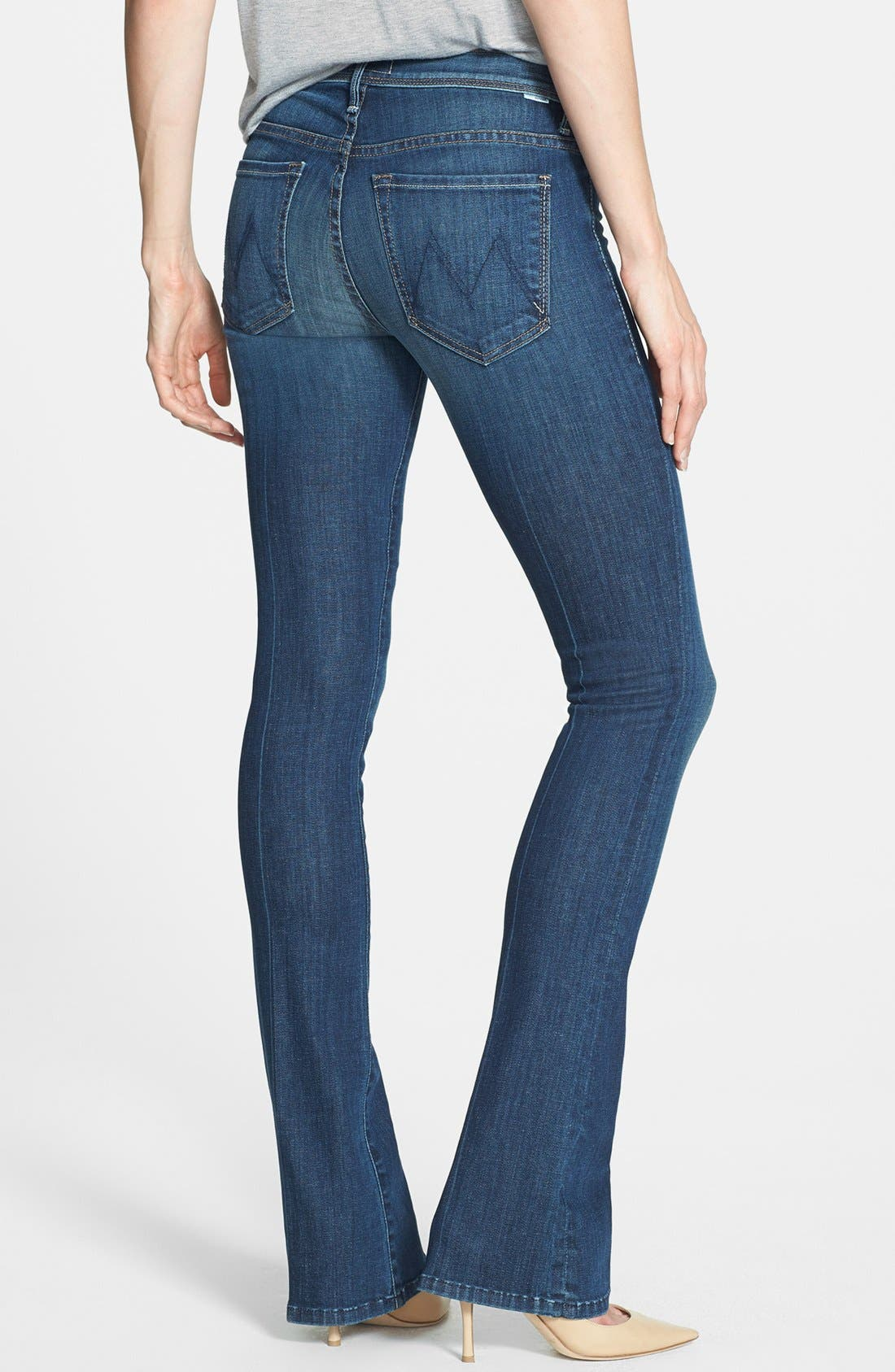 Alternate Image 2  - MOTHER 'Daydreamer' Skinny Flare Leg Jeans (Waltz at Midnight)