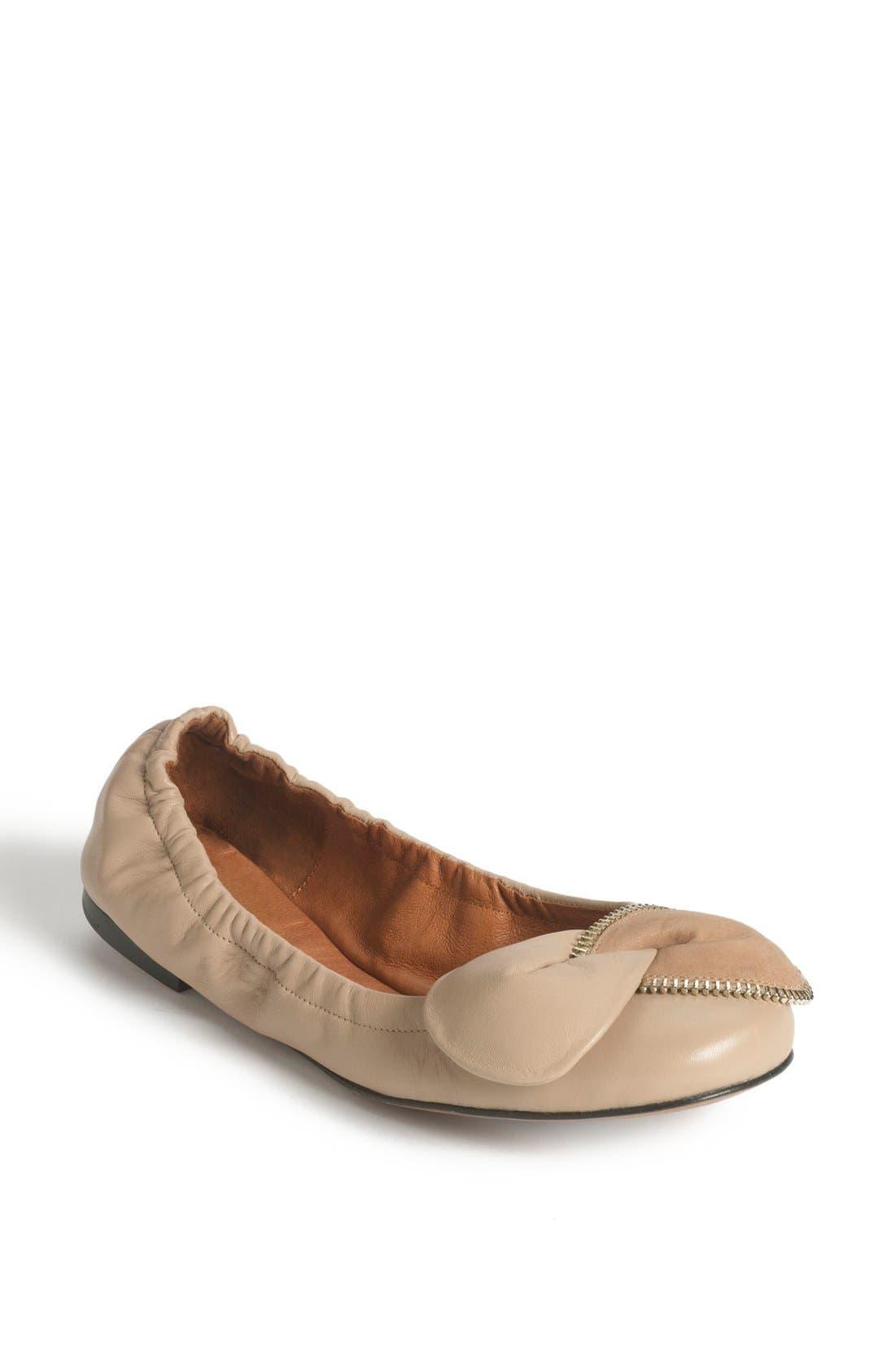 Main Image - See by Chloé 'Clara' Ballerina Flat