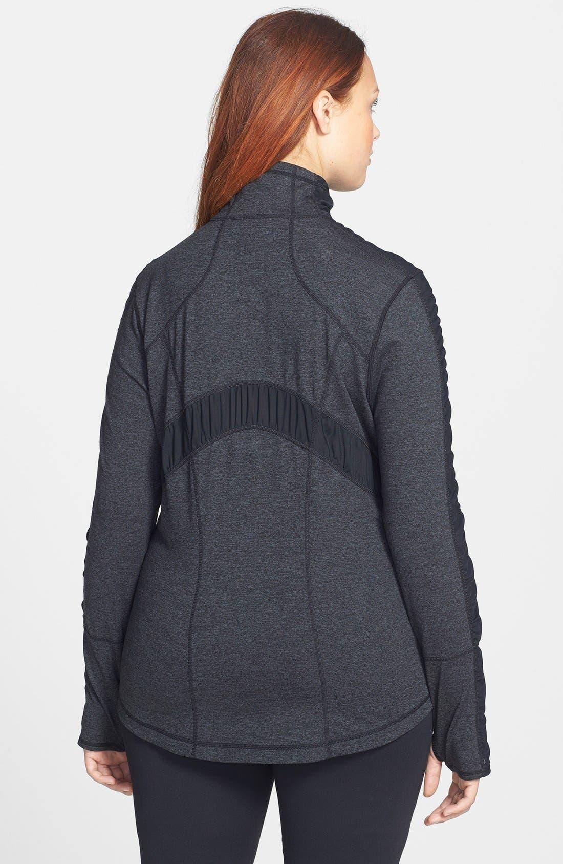 Alternate Image 2  - Zella 'Prism' Cross Dye Jacket (Plus Size)