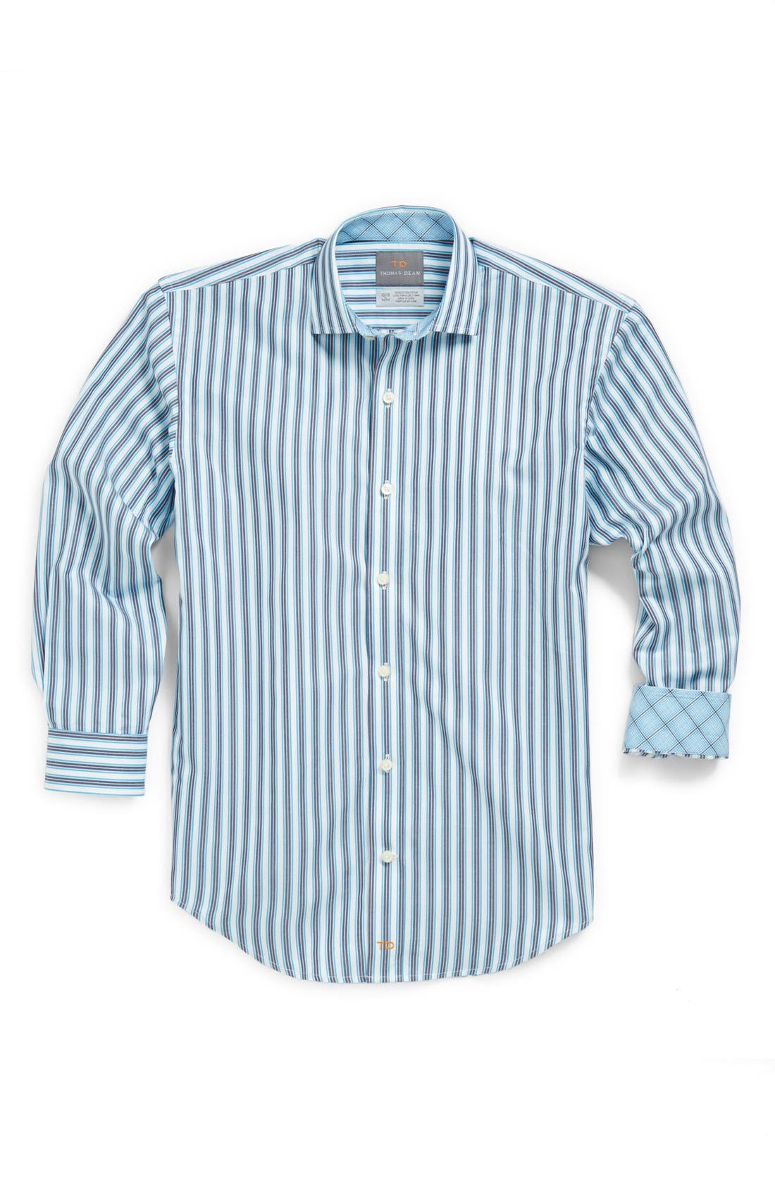 Alternate Image 1 Selected - Thomas Dean Dress Shirt (Little Boys)