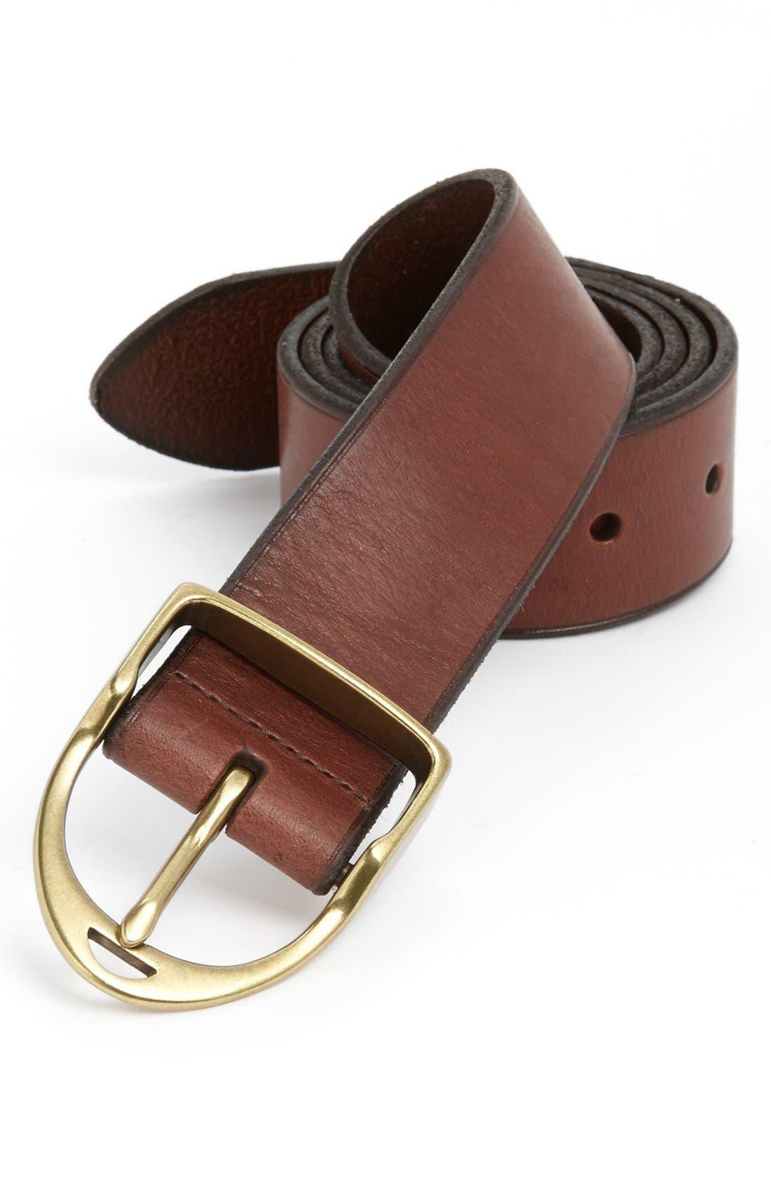Alternate Image 1 Selected - Polo Ralph Lauren 'Wilton' Belt