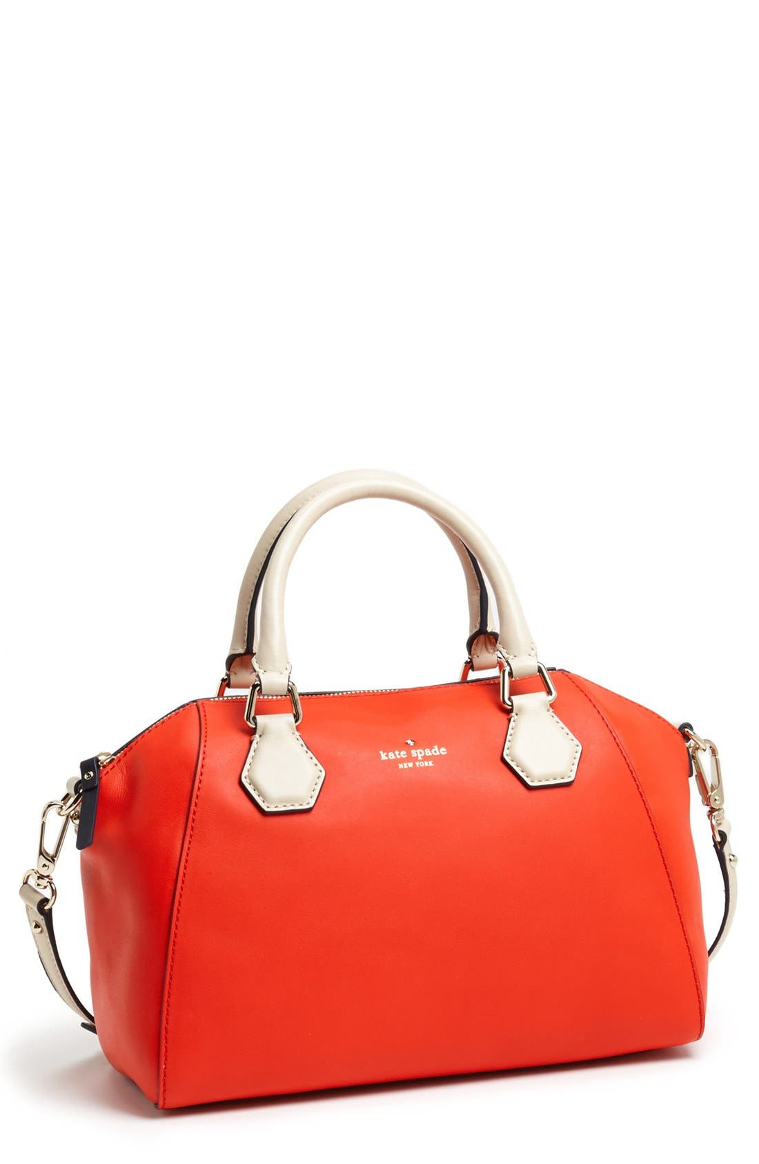 Main Image - kate spade new york 'catherine street - pippa' leather satchel