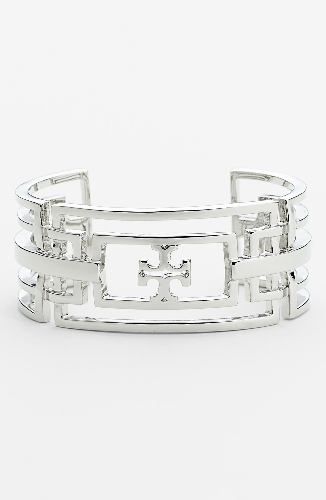 Alternate Image 1 Selected - Tory Burch 'Ashley' Openwork Cuff