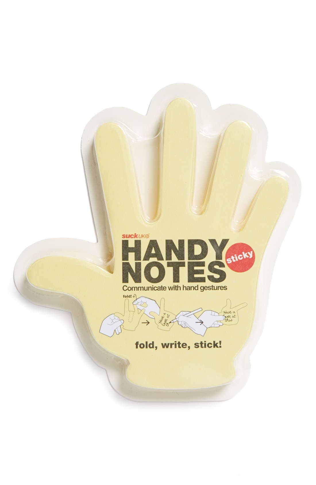 Alternate Image 1 Selected - Suck UK 'Handy Notes' Sticky Notepad