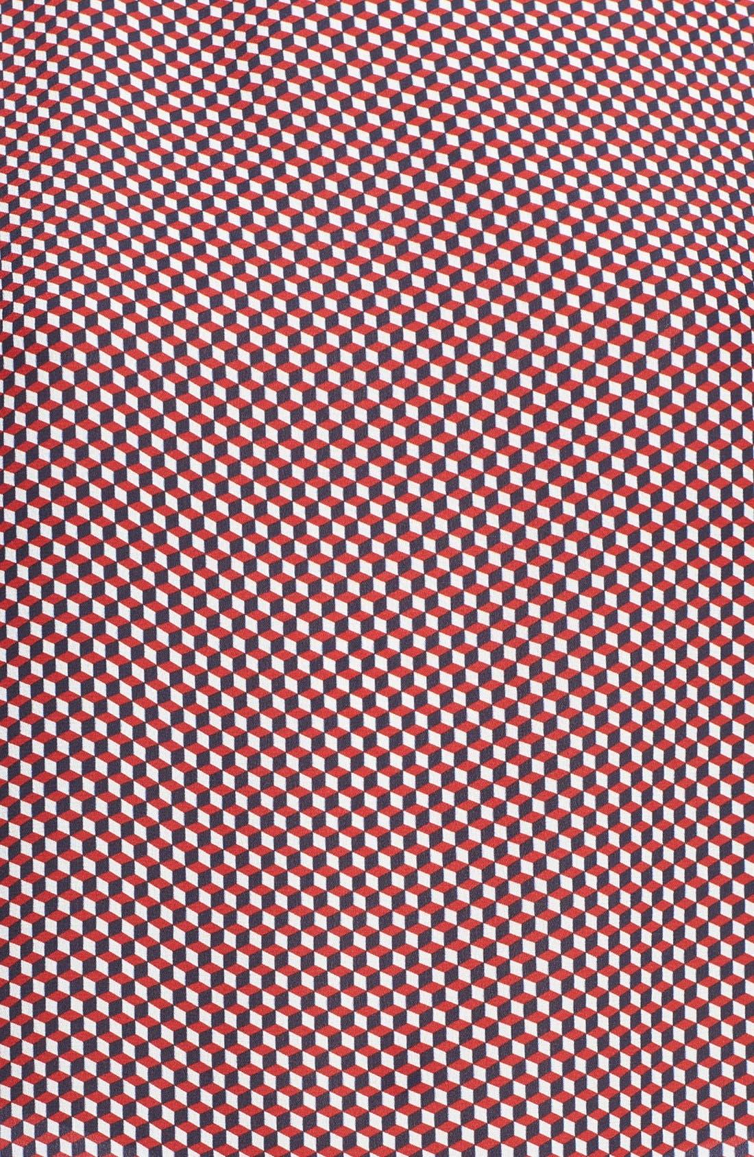 Alternate Image 3  - Theory 'Toska' Print Silk Blouse
