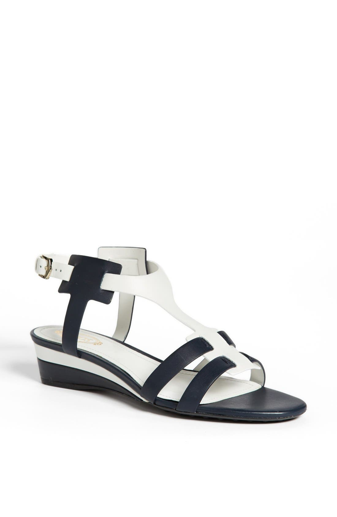 Alternate Image 1 Selected - Tod's 'Zeppa' Wedge Sandal