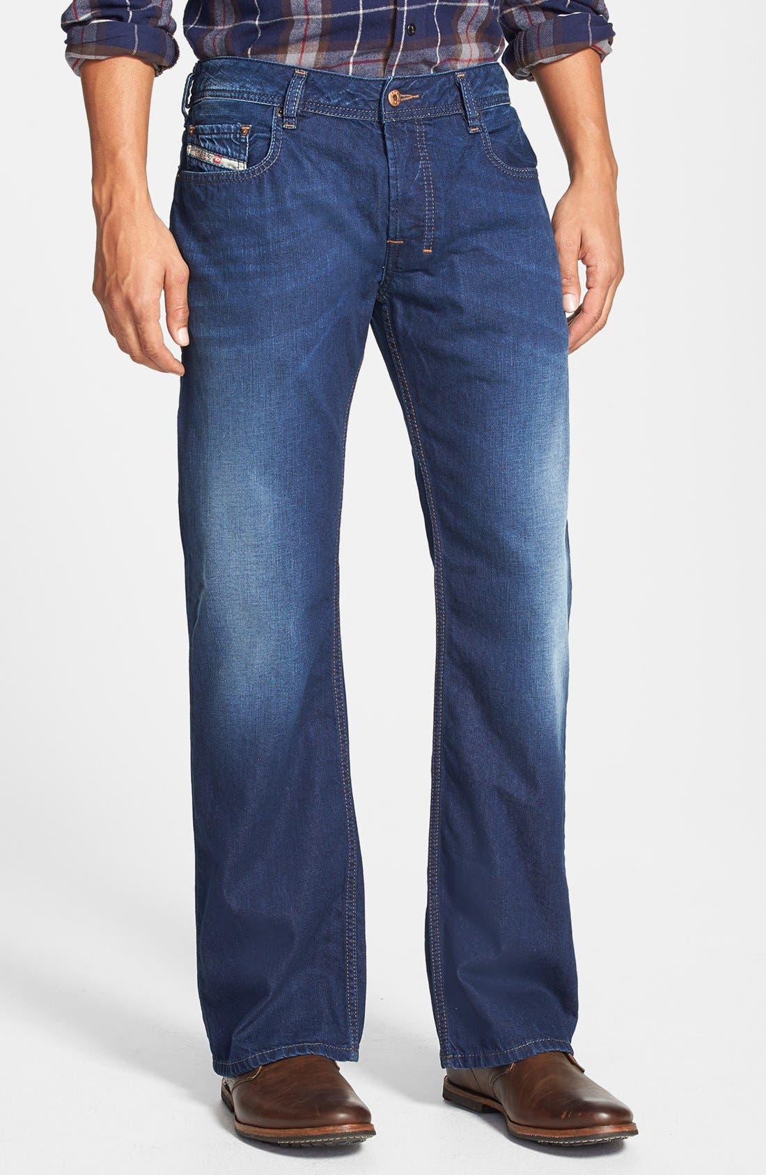 Alternate Image 1 Selected - DIESEL® 'Zatiny' Bootcut Jeans (0818N)