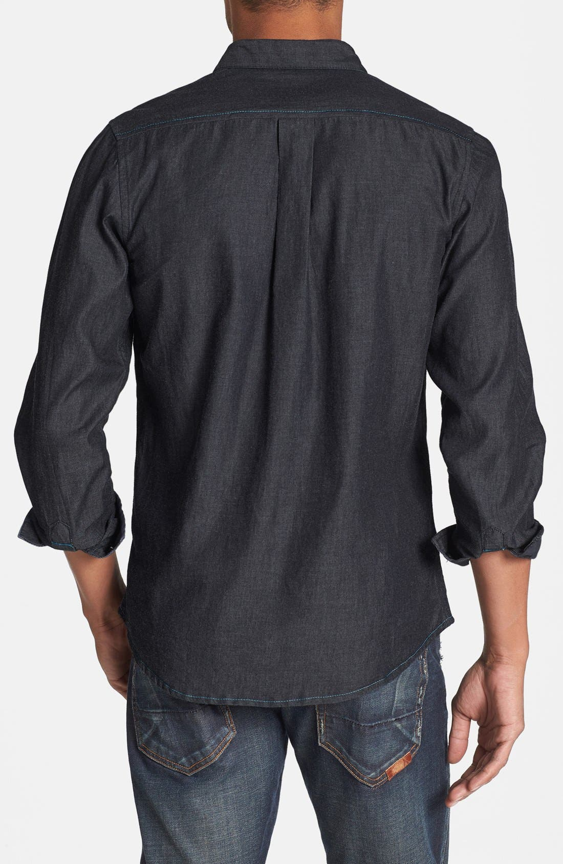 Alternate Image 2  - Descendant of Thieves Chambray Denim Shirt