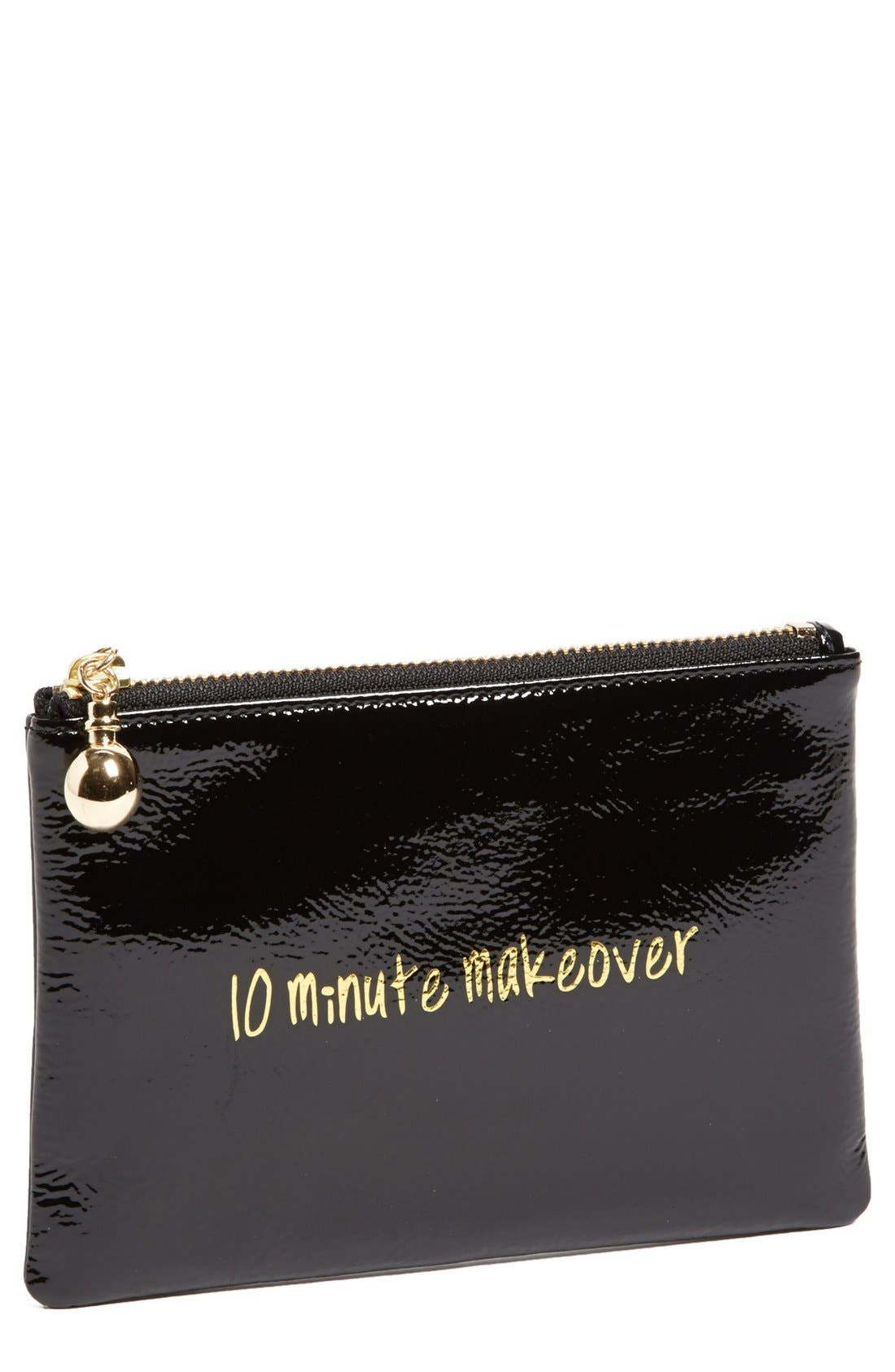 Alternate Image 1 Selected - Halogen® Patent Leather Clutch