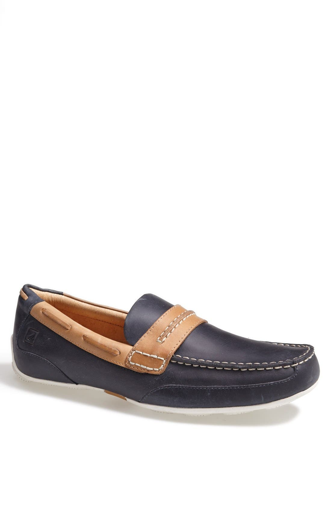 Alternate Image 1 Selected - Sperry Top-Sider® 'Navigator Suede' Driving Shoe
