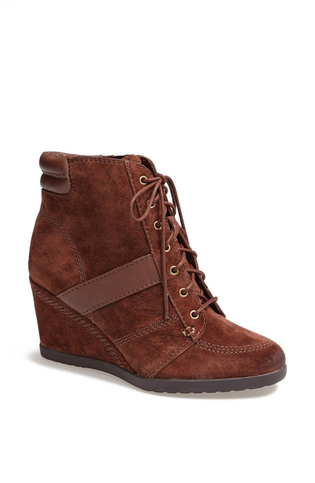 Alternate Image 1 Selected - Naturalizer 'Paitlyn' Suede Wedge Bootie