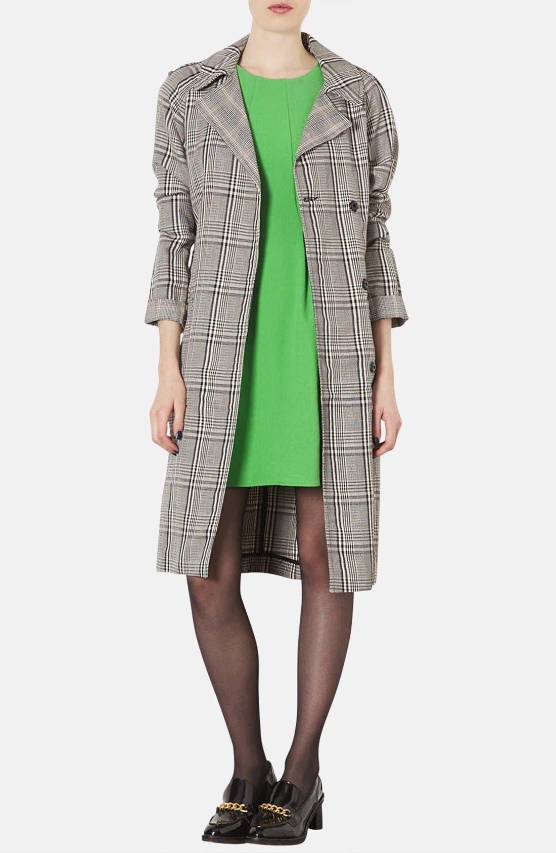 Alternate Image 4  - Topshop Crepe Fit & Flare Dress