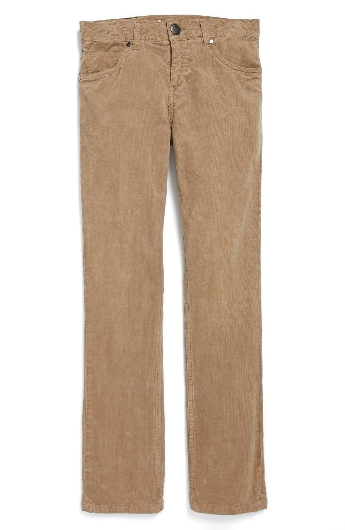 Billabong Straight Leg Corduroy Pants (Big Boys) | Nordstrom