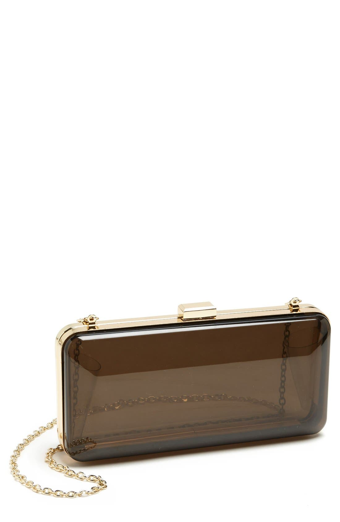 Alternate Image 1 Selected - Melie Bianco Transparent Minaudiere