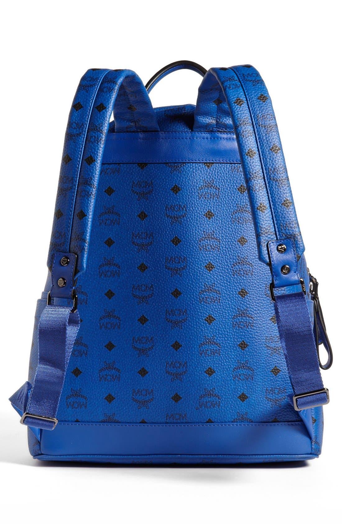 Alternate Image 3  - MCM 'Sprinkle Stud - Medium' Coated Canvas Backpack