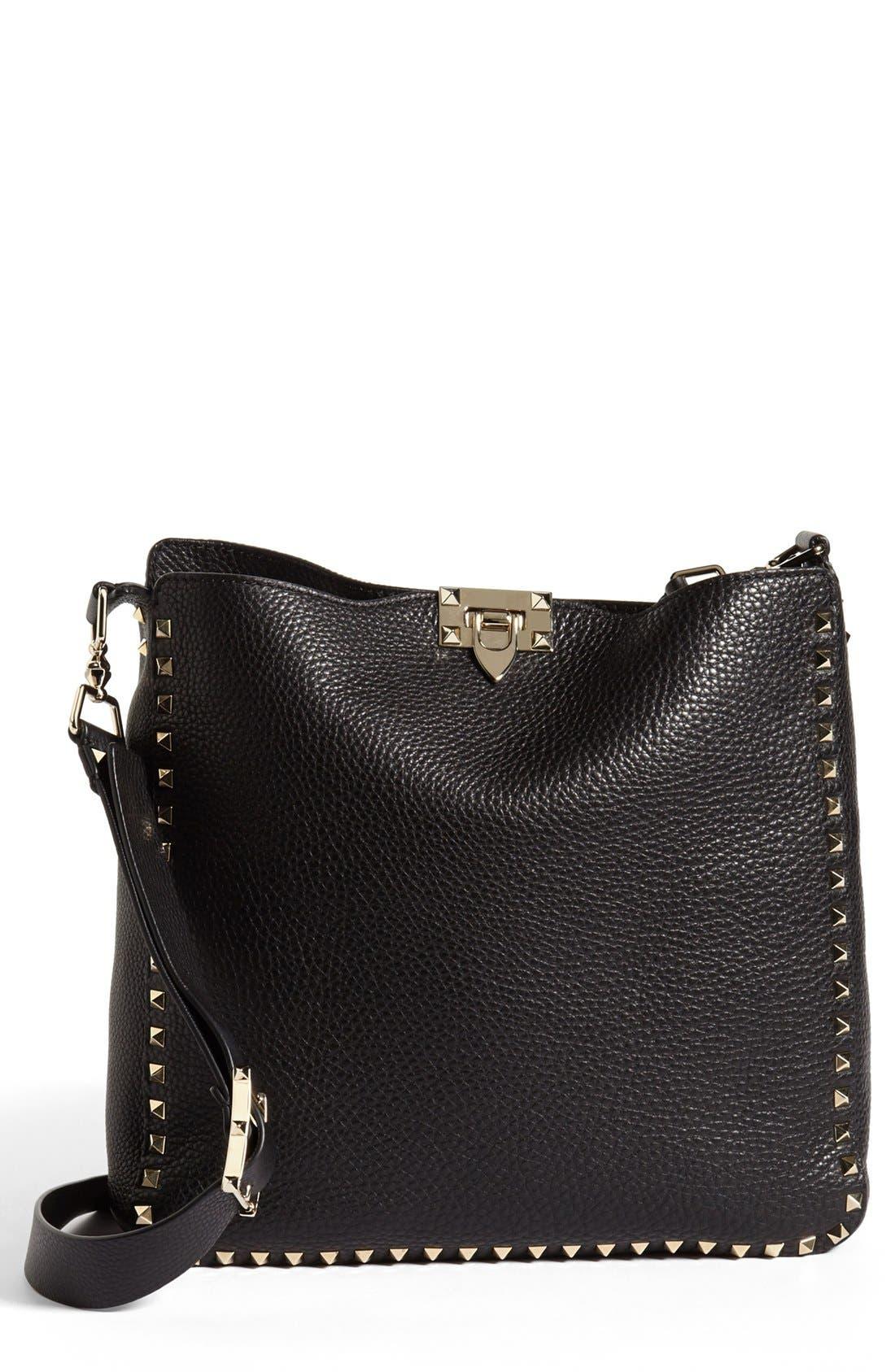 Alternate Image 1 Selected - Valentino 'Rockstud' Crossbody Bag