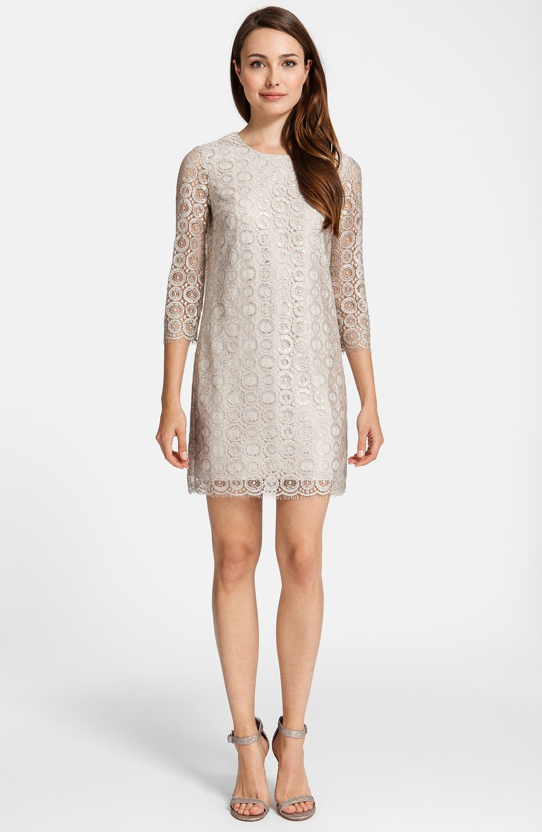 Alternate Image 1 Selected - Cynthia Steffe 'Vida' Lace Shift Dress