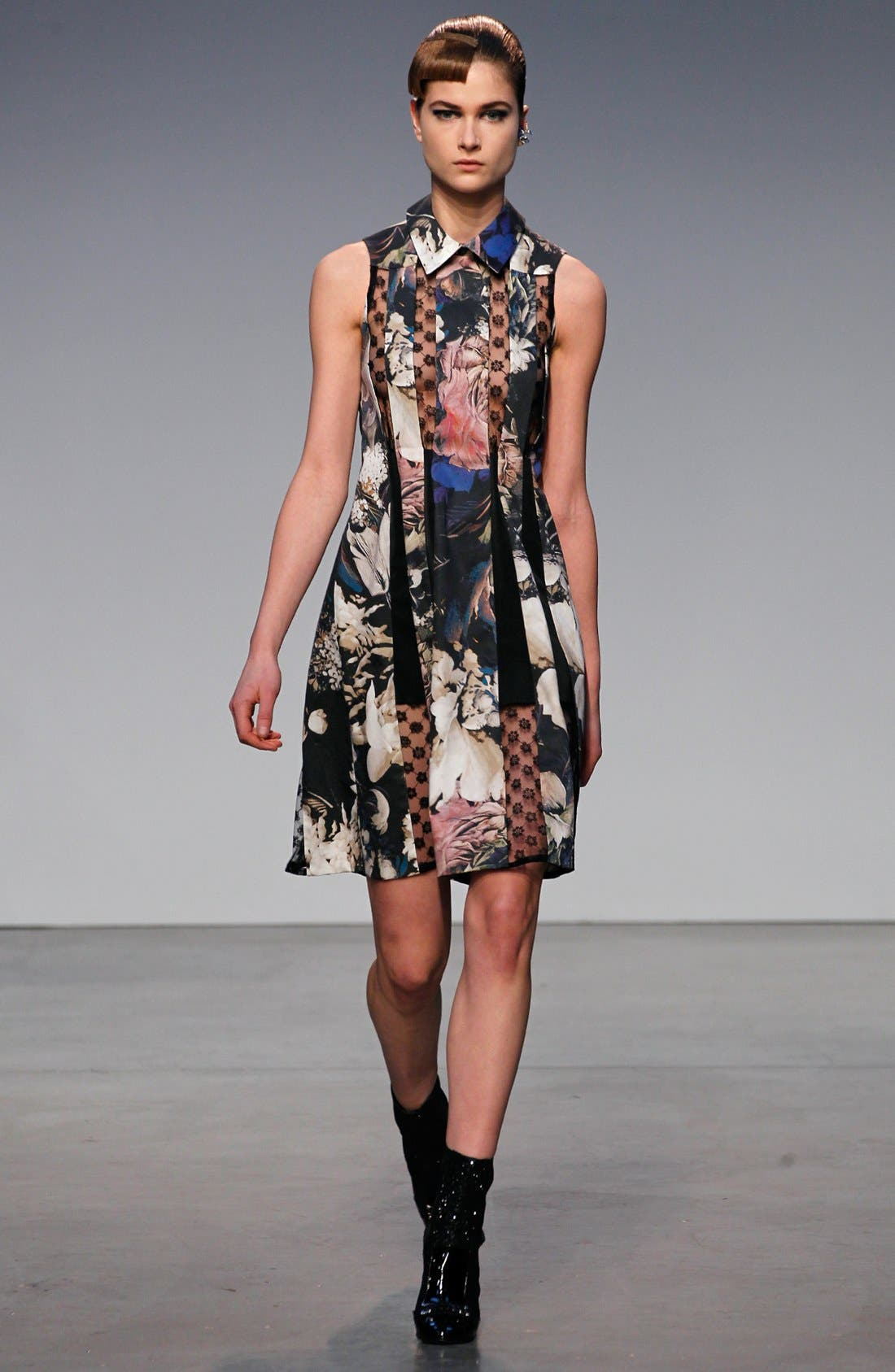 Alternate Image 4  - Thakoon Lace Inset Floral Print Dress