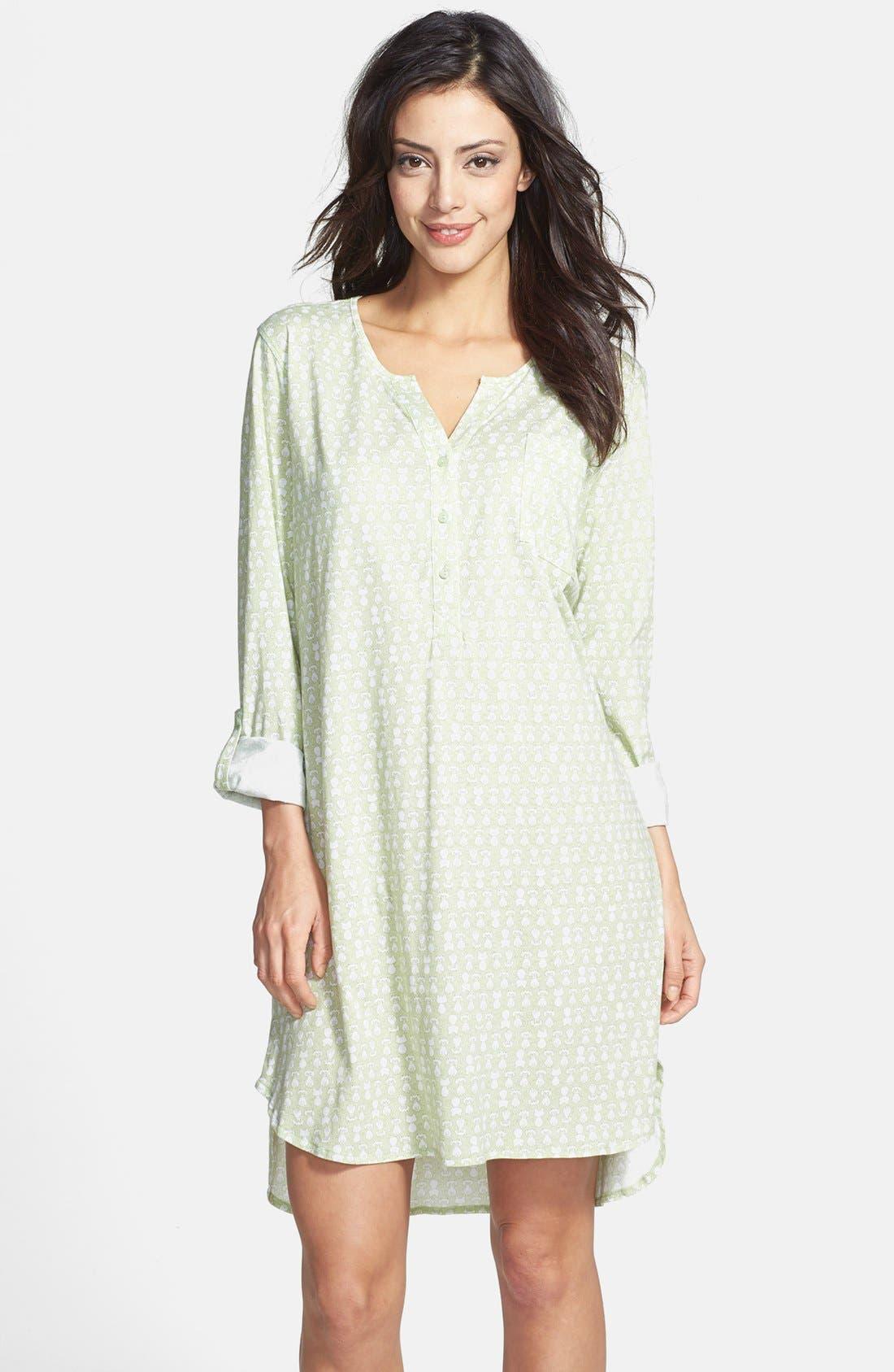 Alternate Image 1 Selected - Carole Hochman Designs 'Radiant Dots' Sleep Shirt