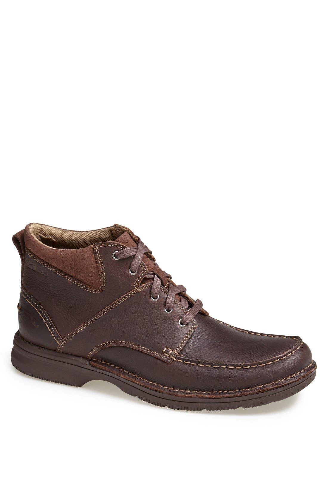 Alternate Image 1 Selected - Clarks® 'Senner Court' Moc Toe Boot