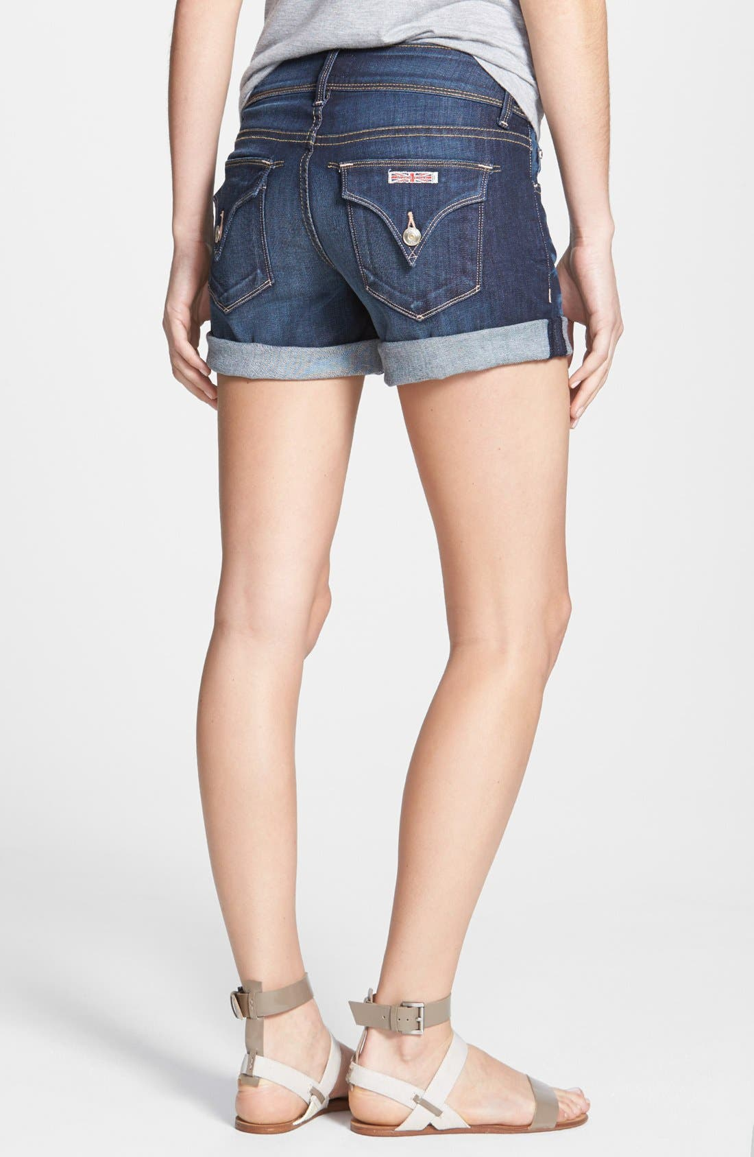 Alternate Image 2  - Hudson Jeans 'Croxley' Cuff Denim Shorts (Stella)