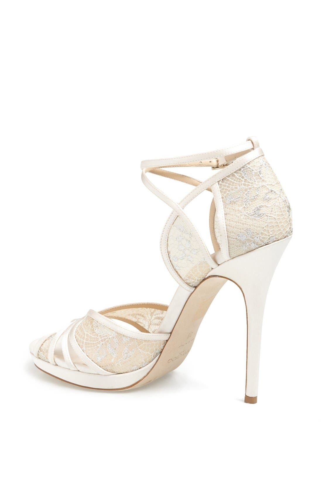 Alternate Image 2  - Jimmy Choo 'Fayme' Lace Platform Sandal