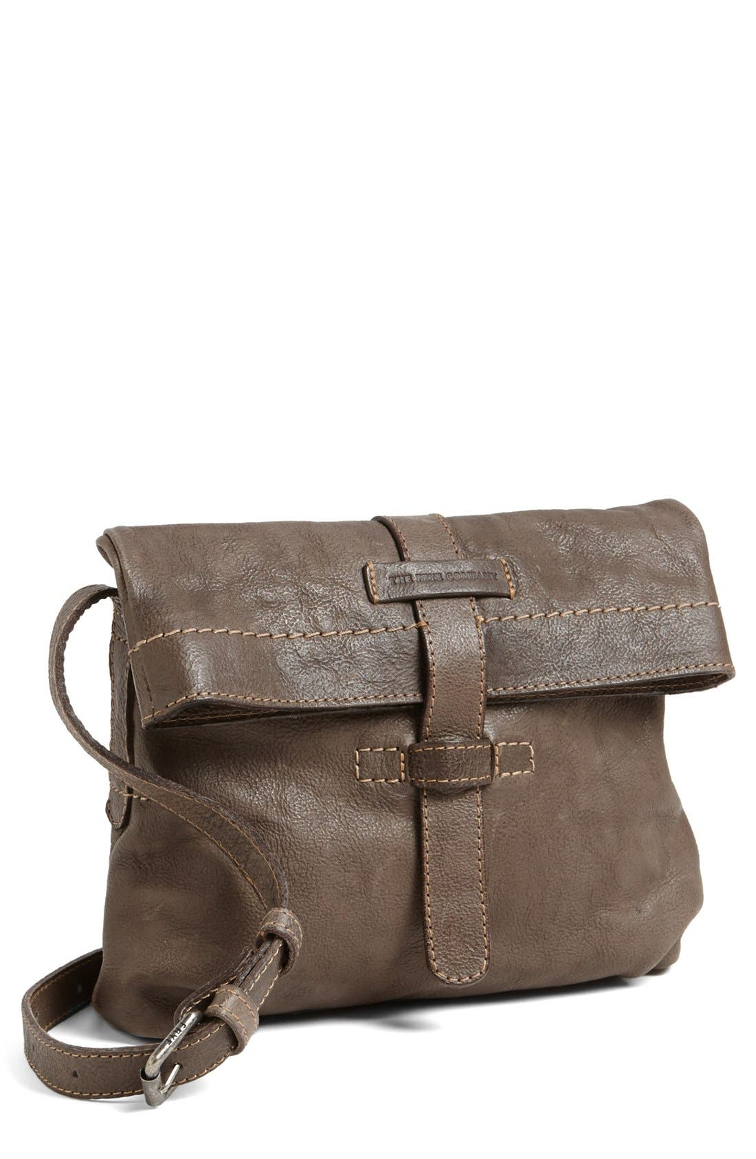 Alternate Image 1 Selected - Frye 'Artisan Foldover' Leather Crossbody Bag