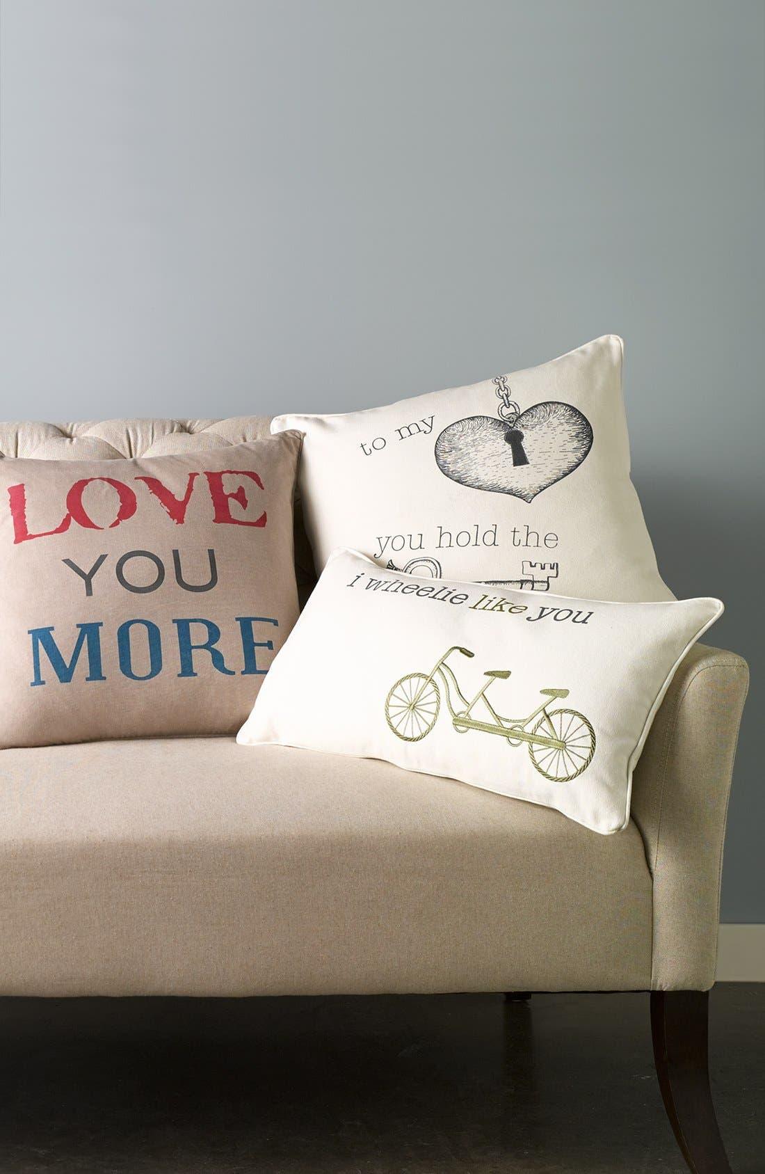 Alternate Image 2  - Levtex 'Key to My Heart' Pillow