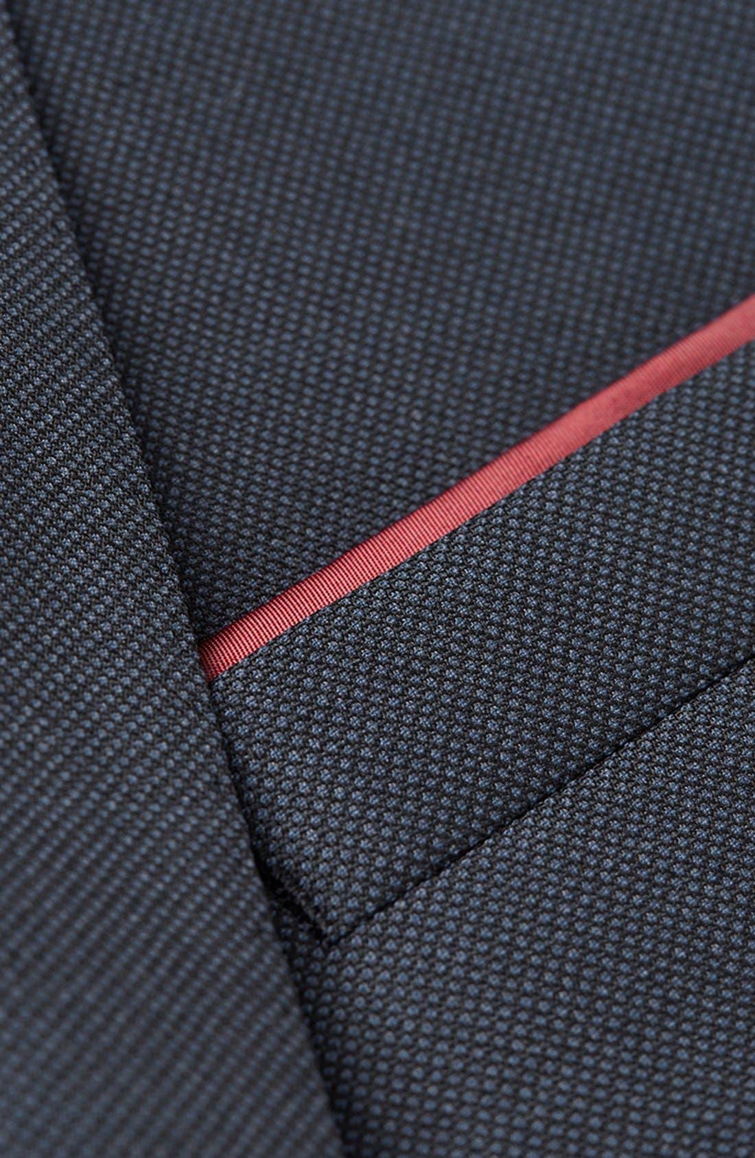Alternate Image 3  - Topman Skinny Fit Peak Lapel Wool Blend Sport Coat
