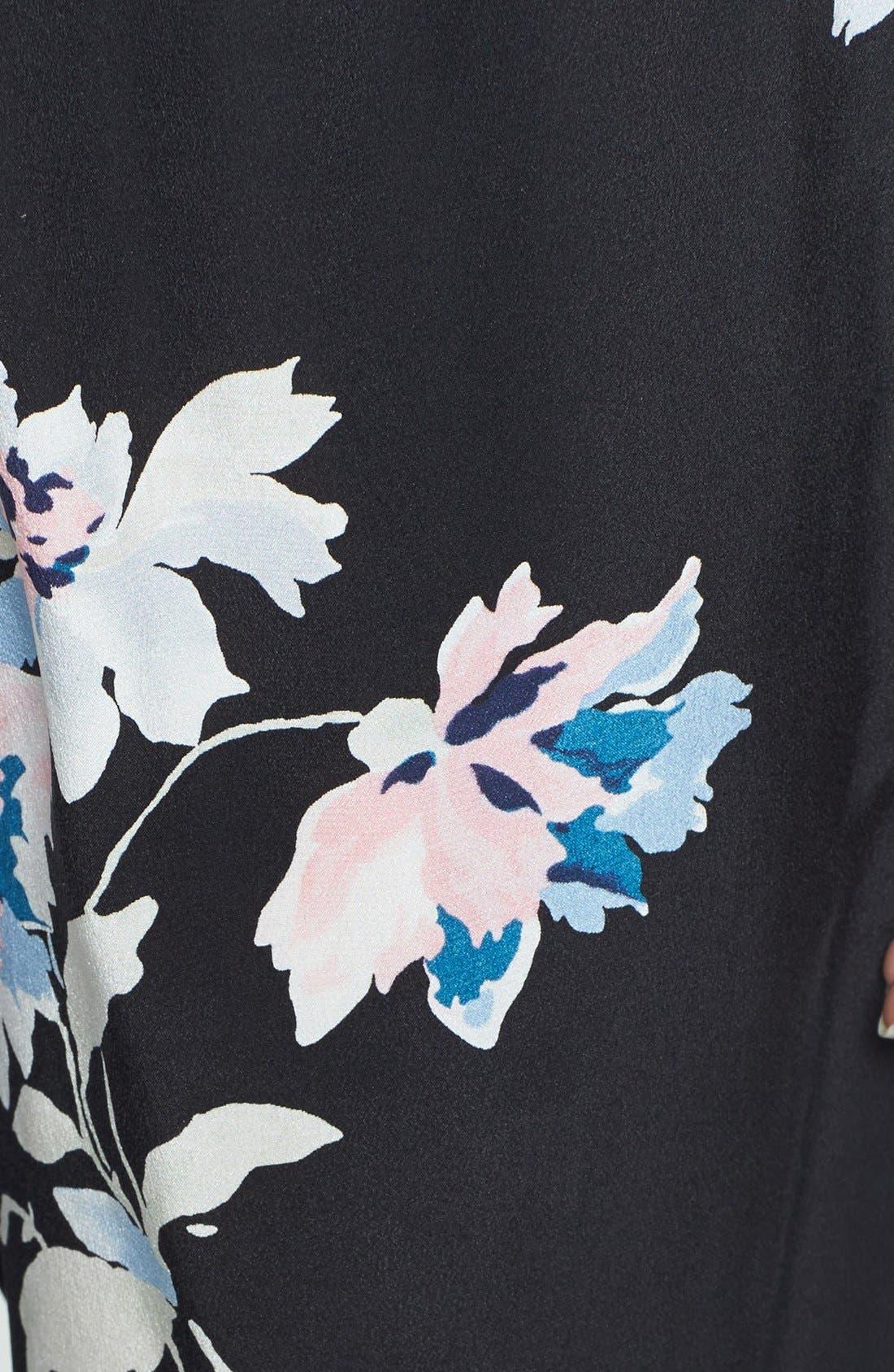 Alternate Image 3  - Joie 'Talina B' Floral Print Silk Pants