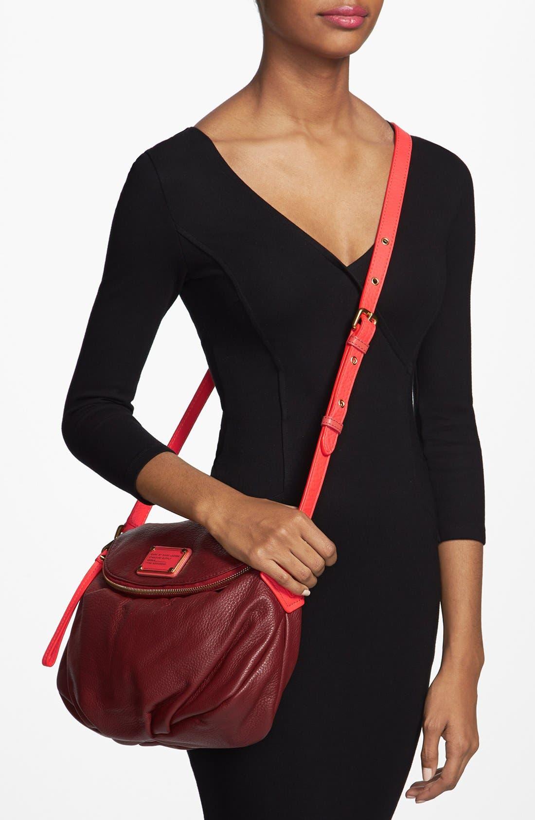 Alternate Image 2  - MARC BY MARC JACOBS 'Classic Q - Natasha' Leather Crossbody Bag