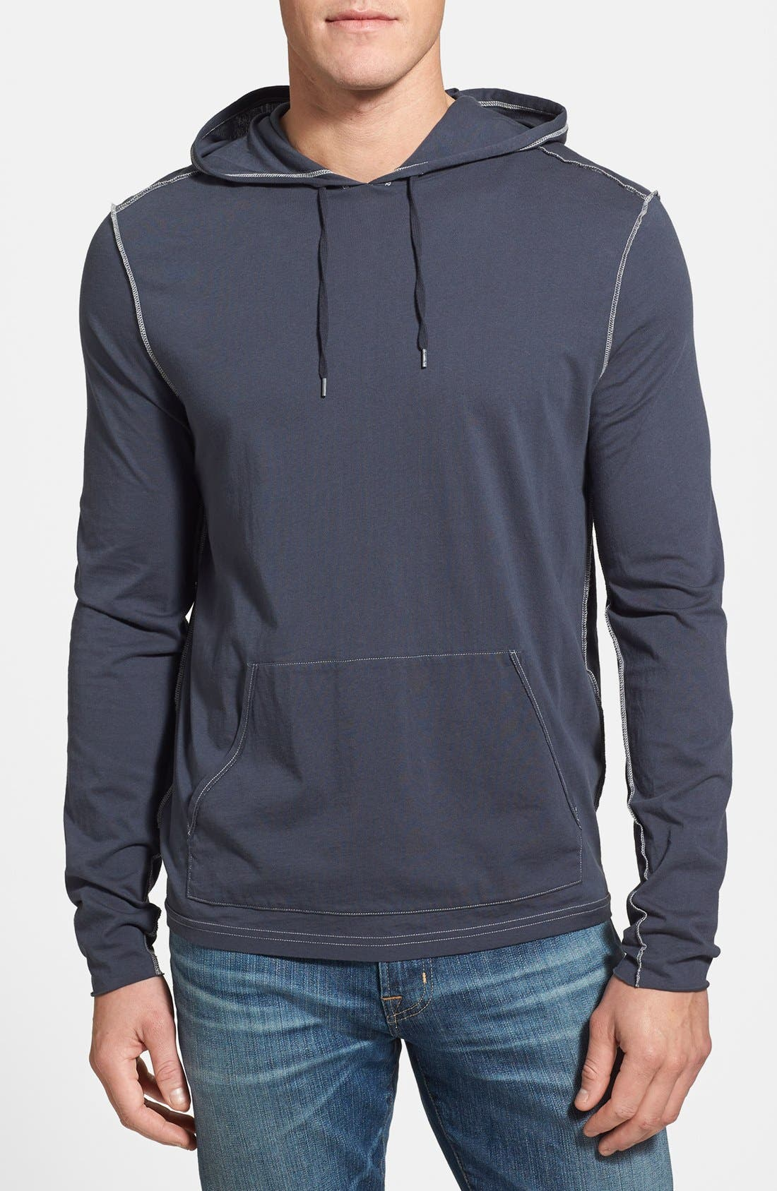 Main Image - John Varvatos Star USA Pullover Knit Hoodie