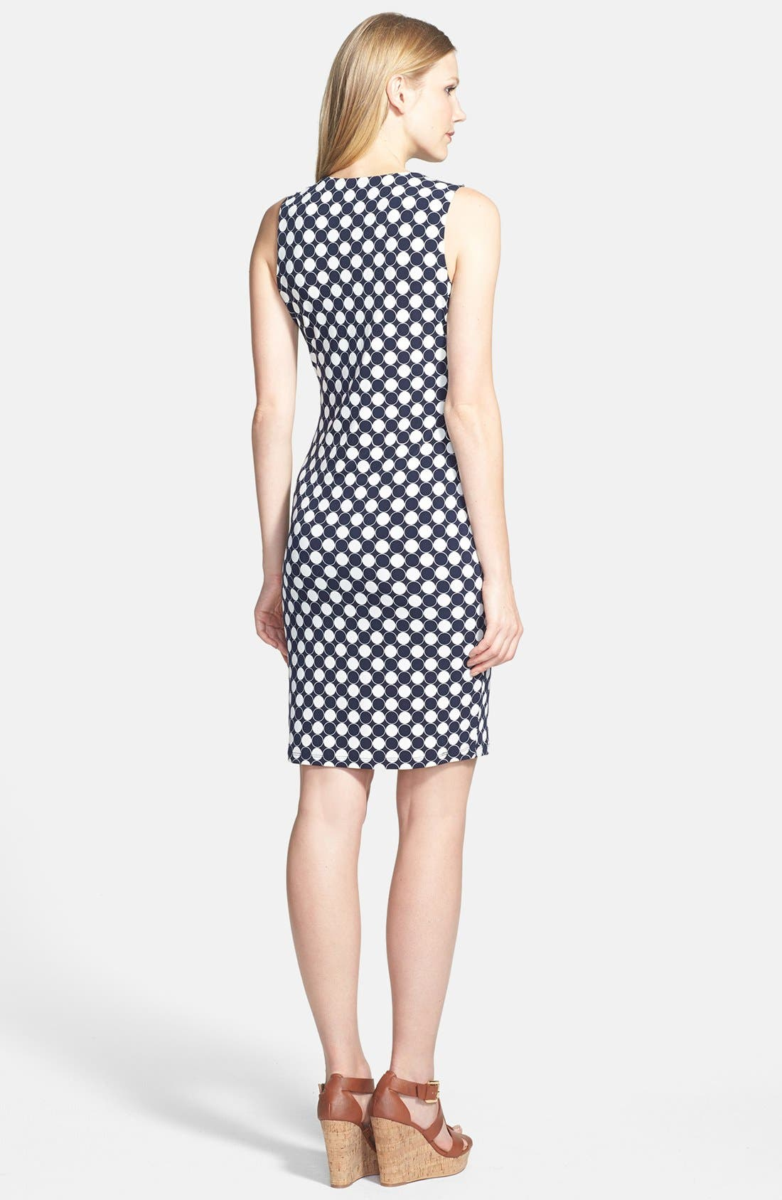 Alternate Image 2  - Vince Camuto 'Retro Dots' Dress