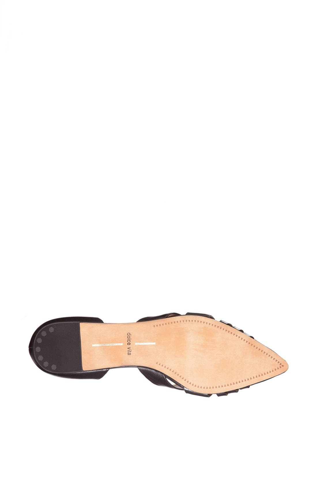 Alternate Image 4  - Dolce Vita 'Alpha' Leather Flat Sandal